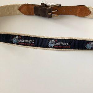 Other - Vintage Whitbread Sailing Race Belt